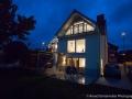 Lake House bei Nacht
