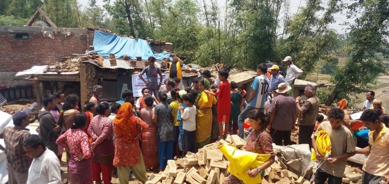 Spendenaktion für Kinder in Nepal